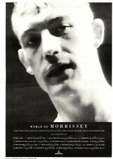 "11/2/95PGN24 ALBUM/TOUR ADVERT 15X11"" THE WORLD OF MORRISSEY"