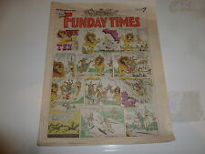 THE FUNDAY TIMES - No 81 - Date 24/03/1991 - Free Sunday Times Comic Supplement