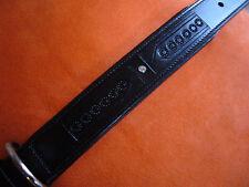 """Hundehalsband """"NOBBY - CANDURO"""", schwarz, Echtleder, 70 cm x 34 mm+neu+"""