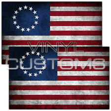 """5"""" Betsy Ross Flag Decal Sticker American Flag United States of America"""