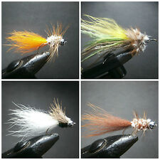 16 STREAMERS FOR FLY FISHING (4 MODELS) - AUS 47
