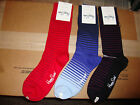 New 3 PAIRS HAPPY SOCKS MEN'S CREW SOCKS MULT COLORS SIZE 10-13 FIT SHOE 8-12