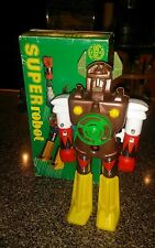 "Vintage Super Robot Shogun K/O - MiB - 10"" Wind up toy 70s 80s"
