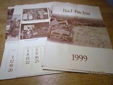 Bad Buchau - Kalender von 1999 mit Nostalgie Motiven - lose Blätter , kpl.  /S35
