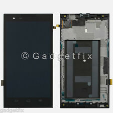 USA OEM ZTE ZMAX Z970 LCD Display Screen Touch Screen Digitizer + Frame Assembly