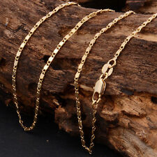 Necklace Chain 18 K Solid Yellow 22 inch Gold Filled Ladies Jewellery GREAT DEAL