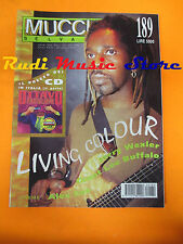 Rivista MUCCHIO SELVAGGIO 189/1993 Living Colour Grant Lee Buffalo S.Albini Nocd