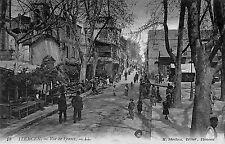 ALGERIE TLEMCEN CARTE POSTALE RUE DE FRANCE 1920
