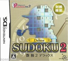 Used DS  Puzzle Series Vol. 9: Sudoku 2 Deluxe  NINTENDO JAPANESE IMPORT