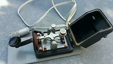 ENTSTORT GERMANY MORSE TELEGRAPH KEY TRESURE WITH CABLE RARE