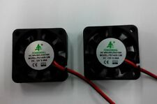 2pcs x 40mm 4cm 12VDC 2 Pin 40x40x10mm NEW DC Brushless Exhaust Cooling Fan