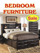 "Bedroom Furniture Sale Business Retail Display Sign, 18""w x 24""h, Full Color"