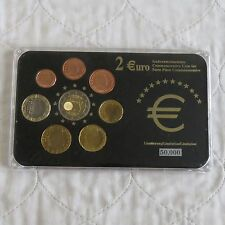 LUXEMBOURG 2007 COMMEMORATIVE 2 EURO ROME IN 8 COIN EURO TYPE SET - pack