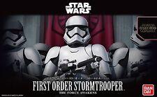 Bandai Star Wars First Order Storm Trooper 1/12 Plastic Model Kit F/S Japan