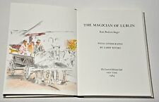 The Magician of Lublin, Issac Singer & Larry Rivers, Signed LEC