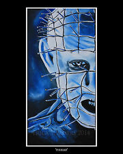 """11 x 14"""" PINHEAD HELLRAISER LIMITED EDITION PRINT - HORROR ICONS COLLECTION"""