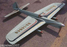 "Model Airplane Plans (UC): ARGUS Classic 51"" Stunter for .29-.35 by Steve Wooley"