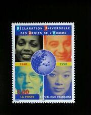 1998 France Universal Declaration of Human Rights, 50th Scott 2689 Mint F/VF NH