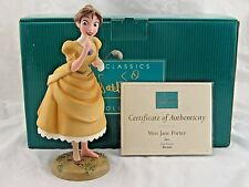 "WDCC ""Miss Jane Porter"" from Disney's Tarzan in Box with COA"