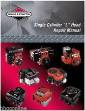 NEW Briggs & Stratton L HEAD SINGLE CYLINDER REPAIR/TECH MANUAL 270962-12/03