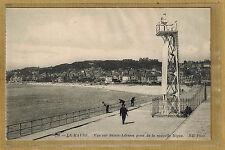 Cpa Le Havre - vue sur Sainte Adresse prise de la nouvelle digue tp0318