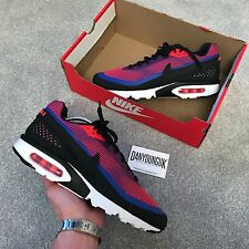 Nike Air Max BW Ultra KJCRD PRM Premium Red Black White UK9 *BNIB* Deadstock