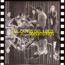 CD SINGLE promo EL CANTO DEL LOCO son sueños SPAIN 2002 1-TRACK
