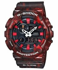 Casio G-Shock Men's LIMITED EDITION G-Lide Red Ani-Digital Watch GAX100MB-4A