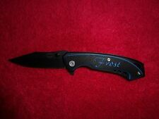Secret Double Agent One Liner Locking Tactical Knife, Double G10, Frost 16-702BL