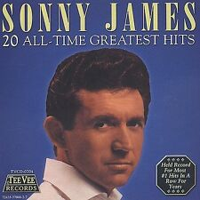 20 All-Time Greatest Hits by Sonny James (CD, Sep-2003, Teevee Records)