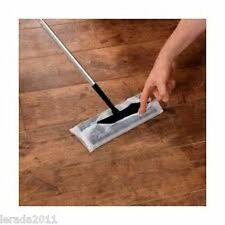 LAMINATE WOOD FLOOR DUSTER CLEANER & PACK 20 MOP REFILLS ANTISTATIC CLEAN DUST