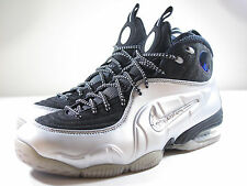 DS NIKE 2009 AIR PENNY 1/2 CENT METALLIC SILVER 7.5 PIPPEN UPTEMPO 97 MAX FORCE