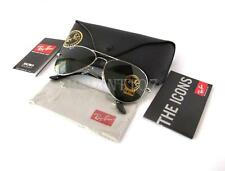 New Mens Sunglasses Ray-Ban RB3025 58mm Aviator Silver