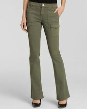 Sanctuary Clothing Womens Bootcut Courier Pant - Army Green Size 27 MSRP $119