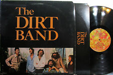 Nitty Gritty Dirt Band - The Dirt Band  (U.A. 854) with Poster ('78) John McEuen