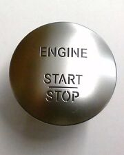Mercedes Benz Start Stop Engine Button Keyless Go Chrome Switch MINT