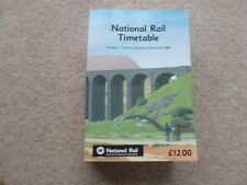 National Rail Timetable 2006 REDUCED PRICE!!