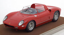 Tecnomodel 1963 Ferrari 250P Press Version Red Color LE of 115 1/18 Scale New!