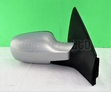 17L5-Renault Megane-II /02-09 Right Side Electric Heated Door Mirror Gris Boreal
