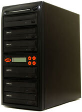5 Burner Mdisc DVD CD Duplicator Copier Multi Duplication Tower Copy Machine