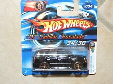 HOTWHEELS 1:64 2006 N°034 FIRST EDITION CADILLAC ESCALADE 2007