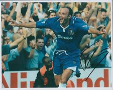 Frank LEBOEUF Autograph Signed Photo AFTAL COA Chelsea Legend RARE Genuine