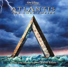 Atlantis: The Lost Empire (Soundtrack) by James Newton Howard CD PROMO