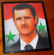 Bashar al-Assad President of Syria flag mouse mat