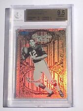 Joe Namath 2012 Fleer Retro Playmakers Theatre Card #/100 BGS 9.5 Alabama