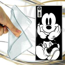 CUSTODIA COVER CASE TPU MICKEY PER SONY XPERIA XZ