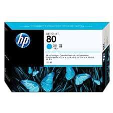 ORIGINALE HP Nº 80 CIANO Designjet c4872a 1000 1050c 1055cm MHD 09/16 NUOVO A-Ware