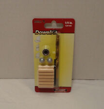 Milescraft Drill DowelKit 1/4 Inch #5337 NIP Build Repair Furniture Ready To Use
