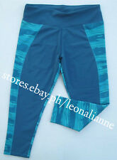 AUTH LULULEMON ATHLETICA STRETCHY CAPRI ACTIVE LEGGINGS SIZE 6 / SMALL #37 BNEW
