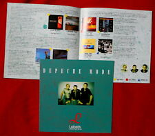 Depeche Mode promo 20 x 20 cm Italian only order form THE SINGLES 86-98 Gahan
